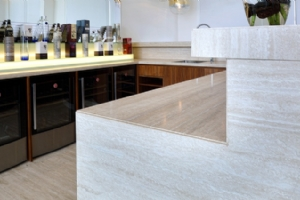 Travertine Kithcen Counter Top