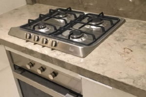 Grey Marble Kitchen Top