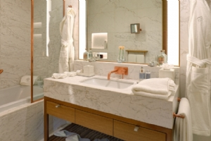 Volakas White Marble Counter Top