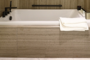 Grey Wood Marble Covering Tile