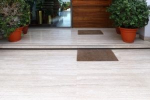 Light Travertine Exterior Tile