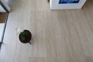 Light Travertine Interior Flooring