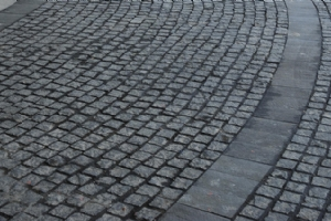 Black Granite Cobble Stone